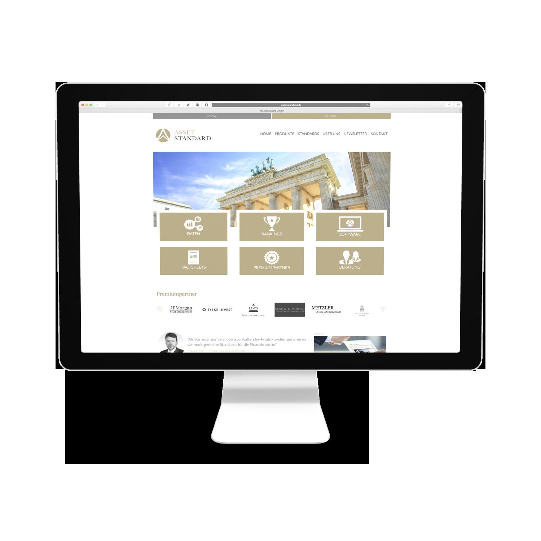 AssetStandard Webseite