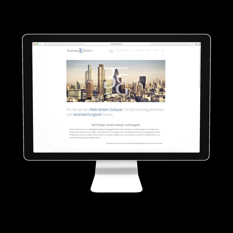 Baumann Webseite