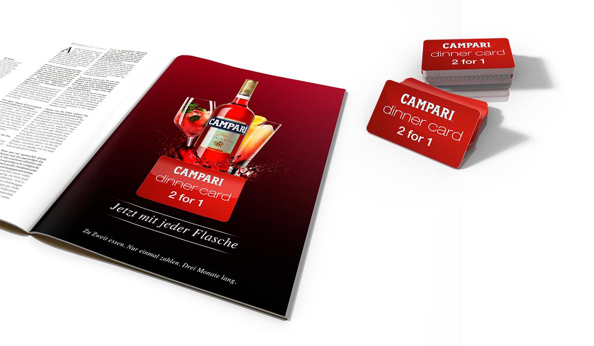 Campari Dinner Card 2