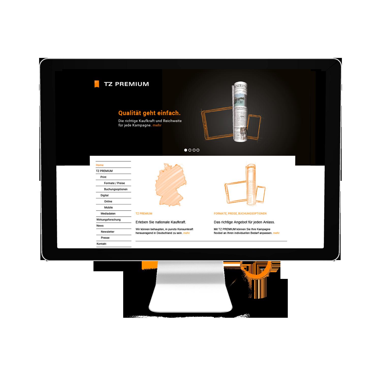 Medienhaus Deutschland Webseite