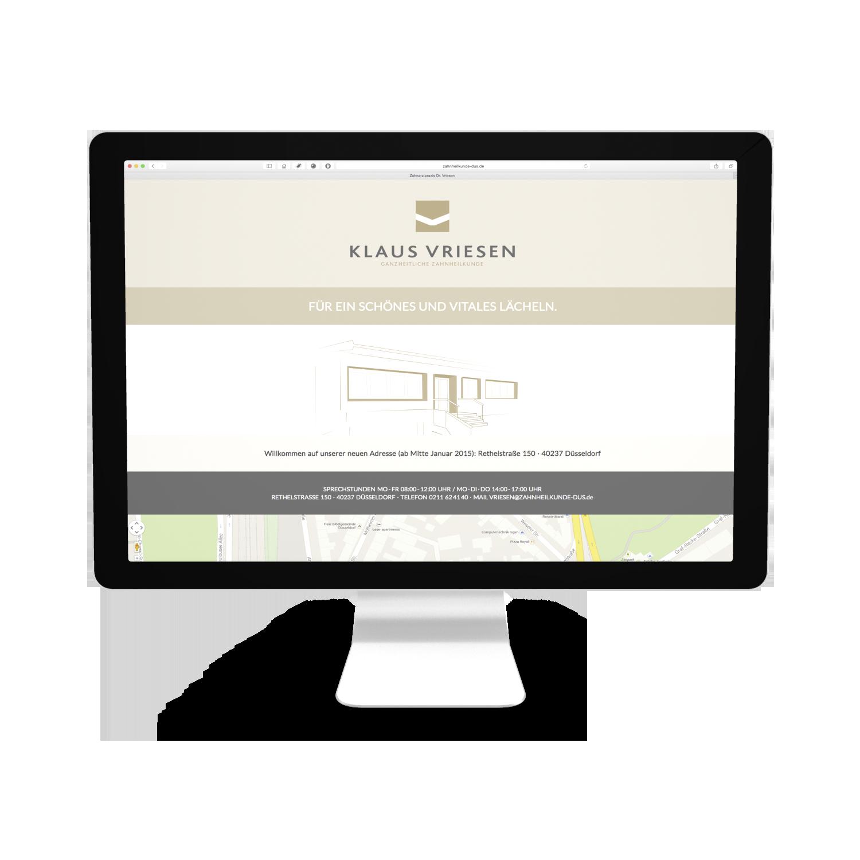 Vriesen Webseite